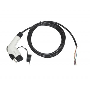 Ratio EV Cable Type 1 to open end 32A 10m