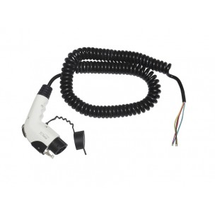 Ratio EV Cable Type 1 to open end 32A coiled