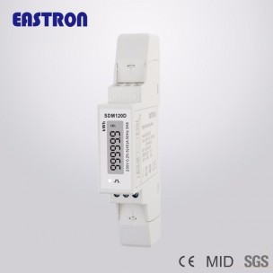 kWh Meter 1-fase Eastron SDM120D MID