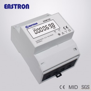 kWh Meter 3-fase Eastron SDM72D MID