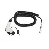 Ratio EV Cable Type 1 to open end 16A coiled